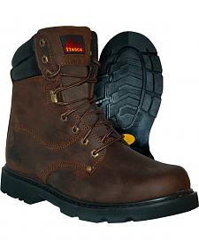 Itasca Men's Force 10 Lace-Up Work Boots - Steel Toe