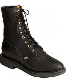 "Justin Original 8"" Lace-Up Work Boots"