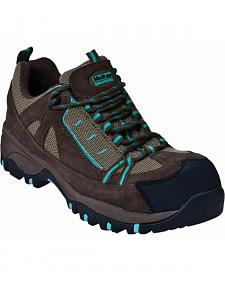 McRae Industrial Women's Lace-Up Hiker Work Boots - Composite Toe
