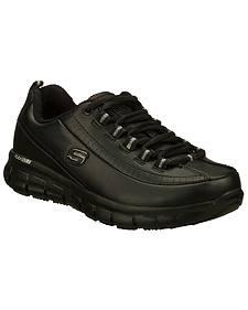 Skechers Men's Black Sure Track Trickel Work Shoes