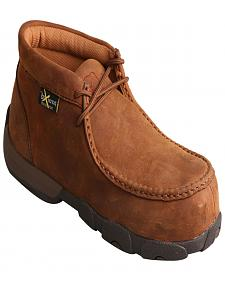 Twisted X Women's Light Brown Driving Mocs