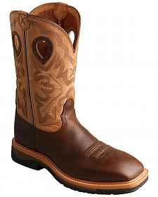Twisted X Hazel Lite Weight Cowboy Work Boots - Steel Toe