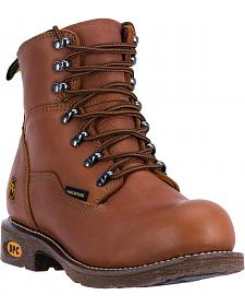 Dan Post Detour Waterproof Logger Boots - Round Toe