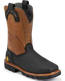 Justin Original Work Boots Work-Tek Tec Tuff Work Boots - Comp Toe