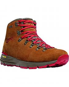 Danner Men's Brown/Red Mountain 600 Hiking Boots