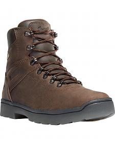 "Danner Men's Brown Ironsoft 6"" Boots - Soft Round Toe"