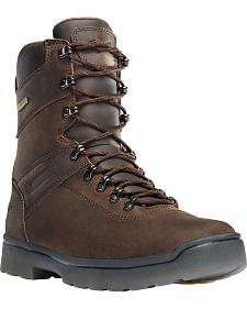 "Danner Men's Brown Ironsoft 8"" Boots - Non-Metallic Toe"