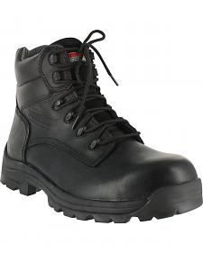 American Worker Men's Stealth Work Boots - Composite Toe