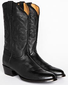 Cody James Men's Classic Black Western Boots - Medium Toe