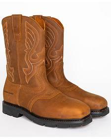 Cody James Men's Western Work Boots - Steel Toe