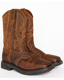 Cody James Men's Western Work Boots - Square Toe