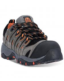 McRae Men's Grey Industrial Athletic Boots - Composite Toe