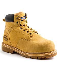 """Dickies Men's Wheat 6"""" Prowler Work Boot - Steel Toe"""