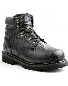 Dickies Men's Black Prowler Work Boots - Steel Toe