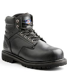 Dickies Men's Black Prowler Work Boot - Steel Toe