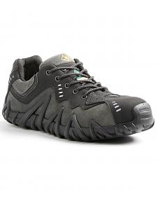 Terra Men's Black Spider Work Shoe