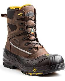 Terra Men's Brown Crossbow XS Boots - Composite Toe