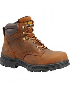 Carolina Men's Brown Waterproof Workboots - Steel Toe