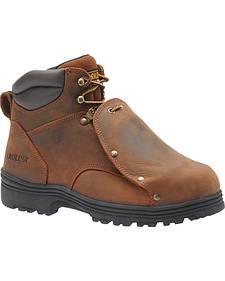 "Carolina Men's 6"" External MetGuard Boots - Steel Toe"