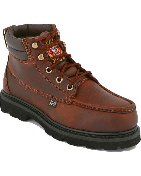 Justin Scout Premium Chukka Work Boots - Steel Toe