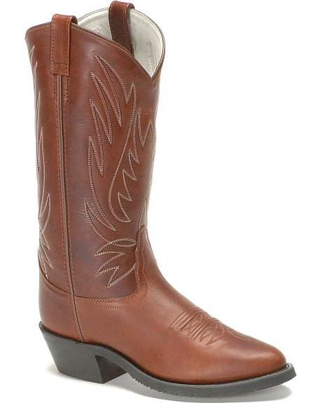 Old West Rancher Work Boots - Soft Toe