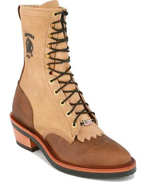 "Chippewa 10"" Lace-up Packer Boots"