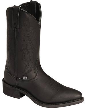Justin Mens Ranch & Road Cowboy Work Boots