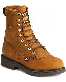 "Justin 8"" Lace-R Waterproof Work Boots"