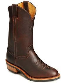 Chippewa Pitstop Western Work Boots