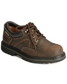 Caterpillar Ridgemont Oxford Work Shoes - Steel Toe