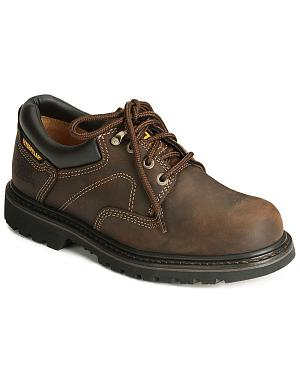 Caterpillar Ridgemont Oxford Work Shoes - Steel Toe