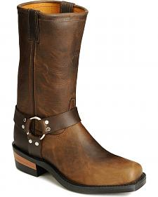 Chippewa Harness Motorcycle Boots