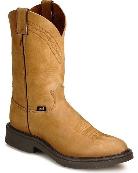 Justin JOW Pull-On Western Work Boots