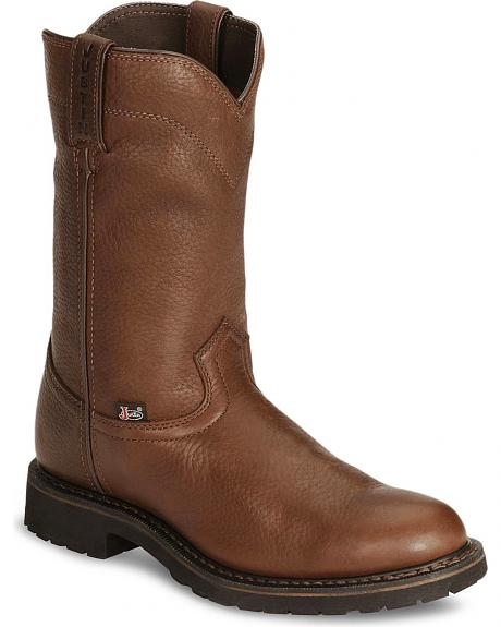 Justin JOW Worker II Pull-On Work Boots