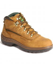 "John Deere 6"" WCT Waterproof Work Hiker Boots"