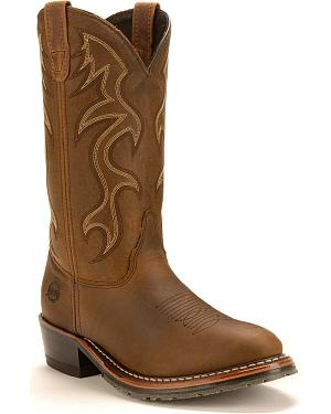 Double H Black Ice Western Work Boots
