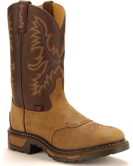 Tony Lama Crazyhorse Work Boots