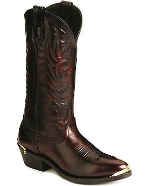 Laredo Trucker Cowboy Work Boots