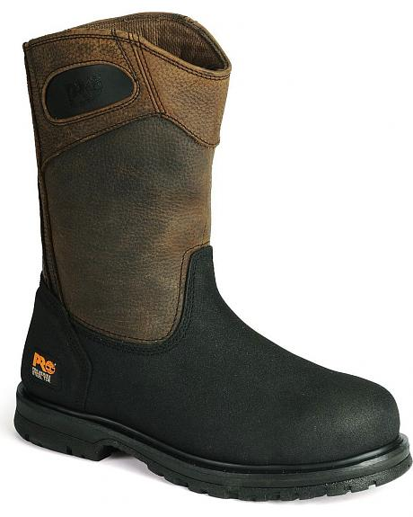 Timberland PRO Powerwelt Wellington Work Boots - Steel Toe
