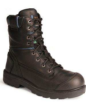 "Kodiak Blue 8"" Work Boots - Composition Toe"