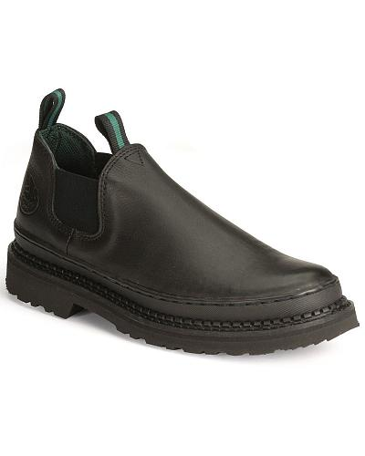Georgia Giant Romeo Slip-On Work Shoes Western & Country GR270
