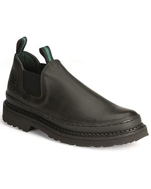 Georgia Giant Romeo Slip-On Work Shoes