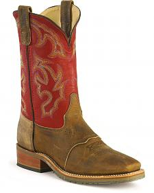 Double H ICE Saddle Vamp Work Roper Boots