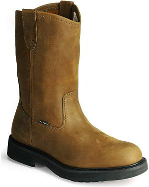 Wolverine Ingham DuraShocks wellington work boots