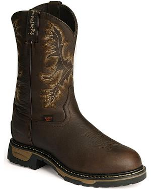 Tony Lama TLX Waterproof Pitstop Leather Work Boots - Steel Toe