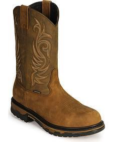 Laredo Waterproof H2O Western Work Boots - Soft Toe