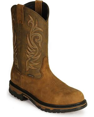 Laredo Waterproof H2O Western Work Boots - Soft Toe