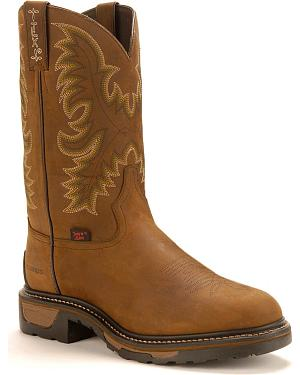 Tony Lama TLX Waterproof Work Boots - Steel Toe