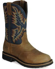 Justin Stampede Work Boots - Soft Toe