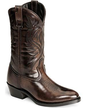 Laredo Western Boots - Med Toe